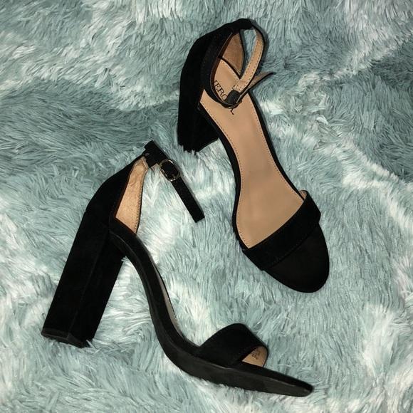 c5ce8a5fb0a Merona Lulu High Block Heel with ankle strap